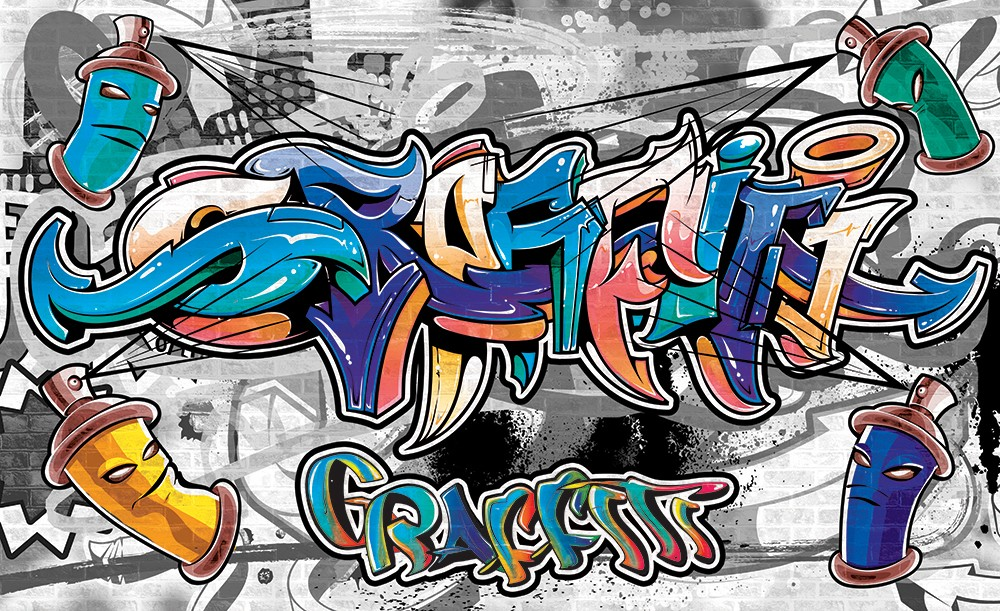 Graffiti 2294 több méretben, alapanyagban