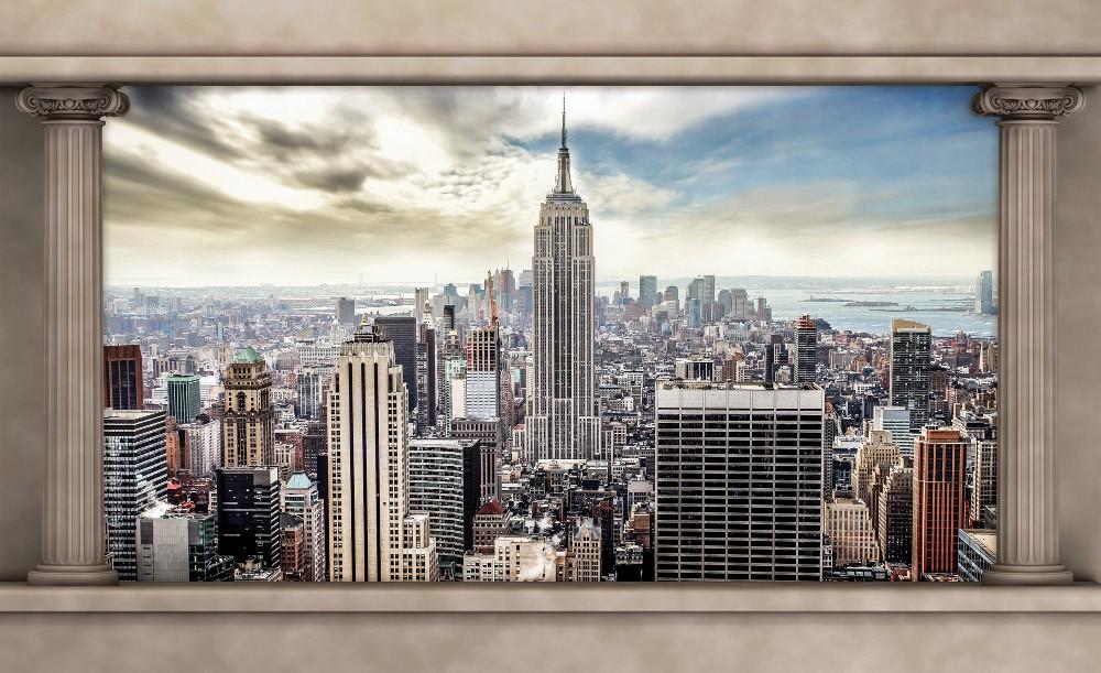 New York poszter, fotótapéta Vlies (312 x 219 cm)