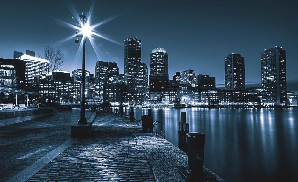 Éjszakai város 283 fotótapéta több méretben, alapanyagban