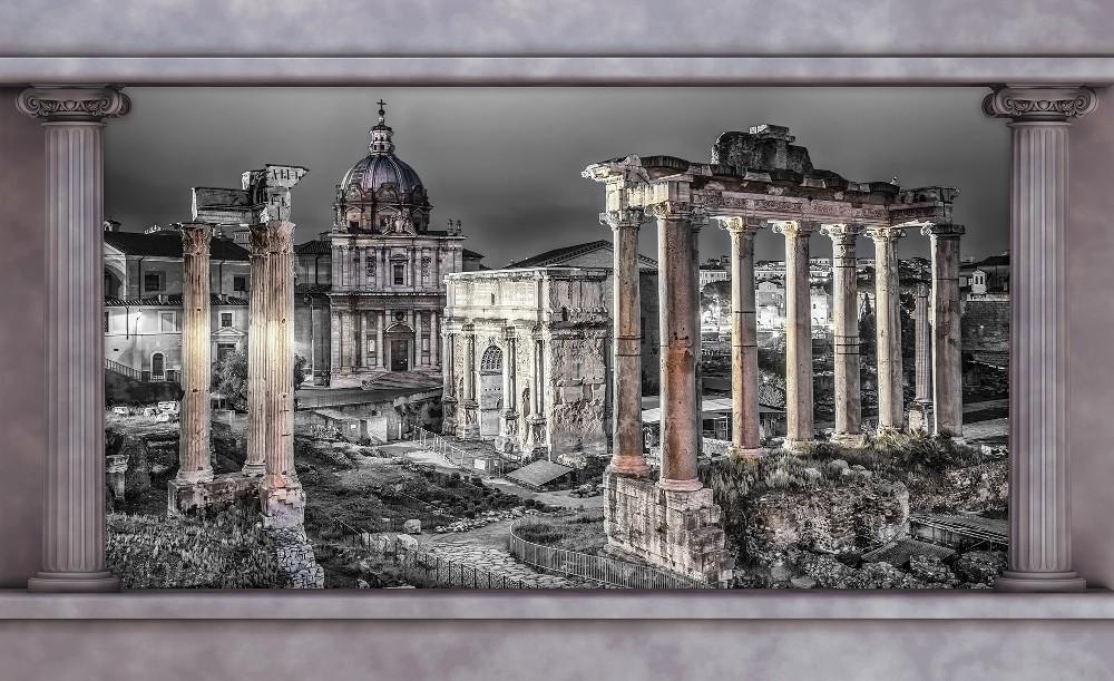 Város poszter, fotótapéta Vlies (152,5 x 104 cm)