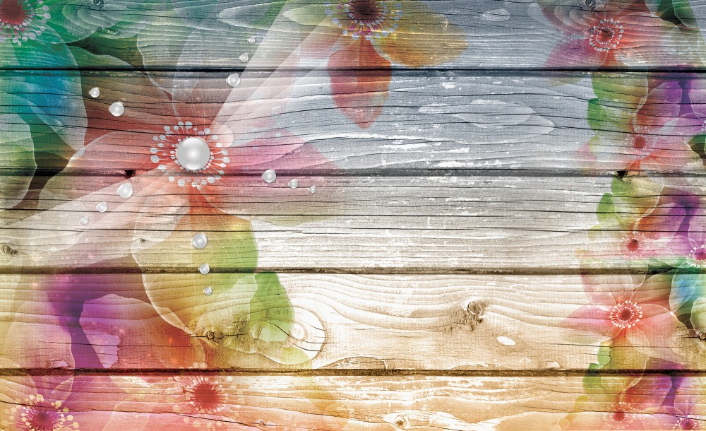 Virágok fotótapéta több méretben, alapanyagban